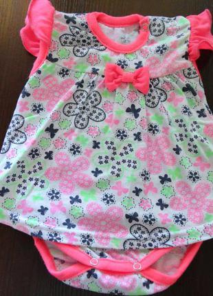 Боди-платье 62 размер