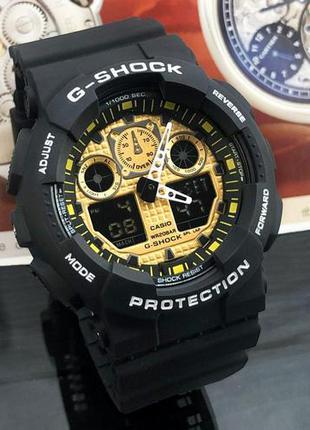Стильные мужские наручные часы Casio G-Shock GA-100