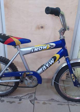 Детский велосипед SNOW BYW 16