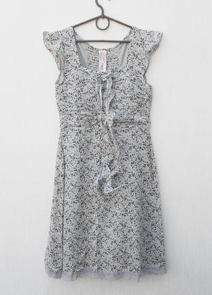Летнее легкое хлопковое платье