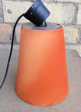 Абажур (светильник) цвет оранжевый
