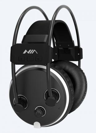 Беспроводные наушники NIA S1000 (Hi-Fi, Bluetooth, SDcard, FM