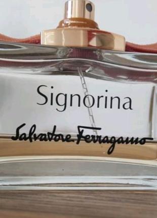 Духи Signorina Salvatore Ferragamo, оригинал