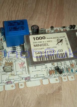 Модуль плата управления стиральных машин ARDO AE 1000 CLATRONIC W