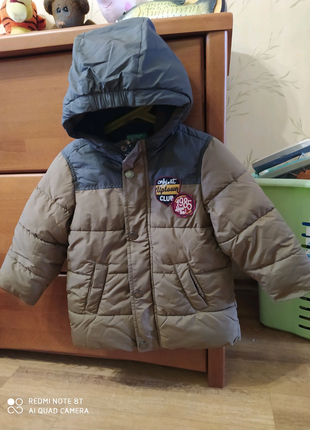 Детская зимняя куртка Benetton, 2 года