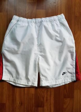 Белые шорты nike