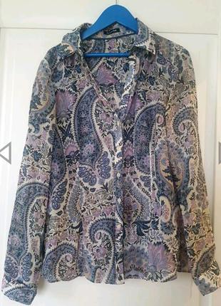 Блуза рубашка Massimo Dutti, оригинал