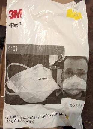 Респиратор 3M VFlex 9101 цена за 25 шт