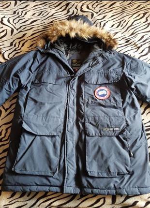 Куртка, Парка Canada Goose (Оригинал) Expedition Parka Navy Men