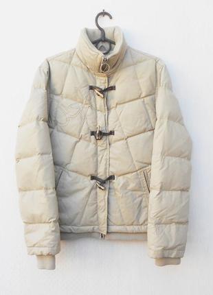 Зимняя теплая куртка пуховик 70% пух