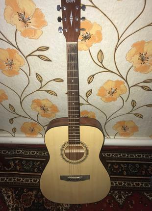 Акустическая гитара фирмы Cort