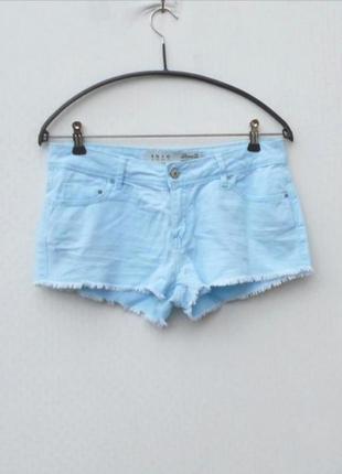 Летние пляжные голубые джинсовые шорты 🌿