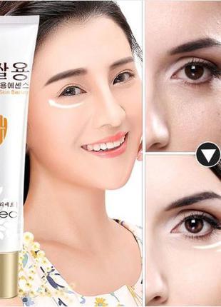 Крем-лифтинг для глаз rorec white rice skin bauty с экстрактом...