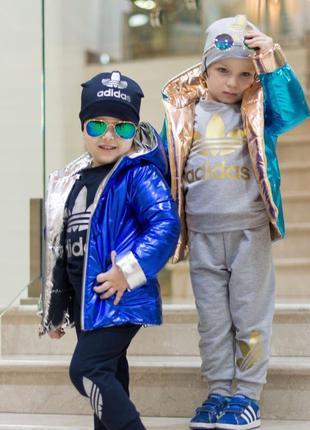 Куртка и спротивный костюм для девочки