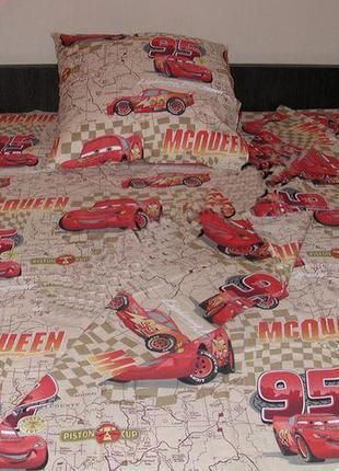 Детское постельное белье mcqueen молния маквин