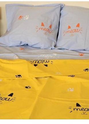 Котики постельное белье в наличии все размеры бязь