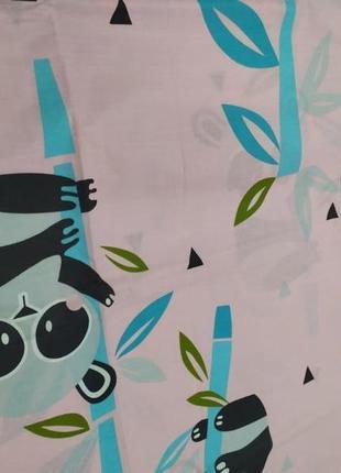Постільна білизна панда, полуторка в наявності