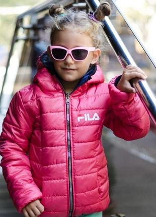 Куртка двухсторонняя для девочки