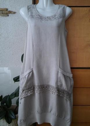 Классное итальянское платье в стиле бохо