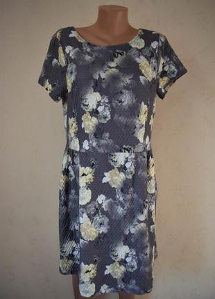 Новое платье с принтом next