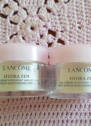 Lancome hydra zen anti-stress cream-gel мгновенно успока.