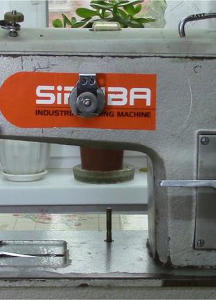 Швейная машина 862 класс с роликом для плотной кожи.
