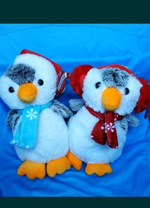 Пингвин ,подарок на рождество,новый год