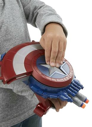 Детский щит Капитана Америки. Щит-автомат, Щит-трансформер. Marve