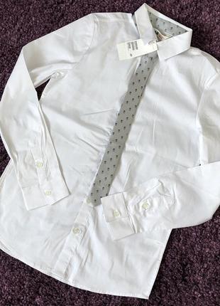 Классическая рубашка h&m  на рост 164