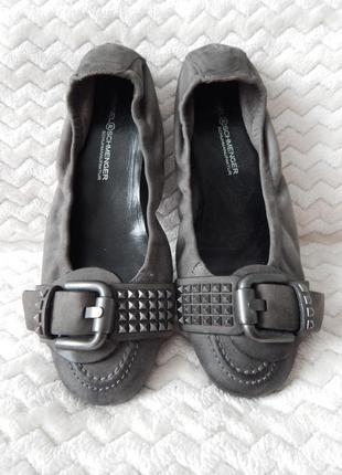 Балетки туфли лоферы kennel & schmenger