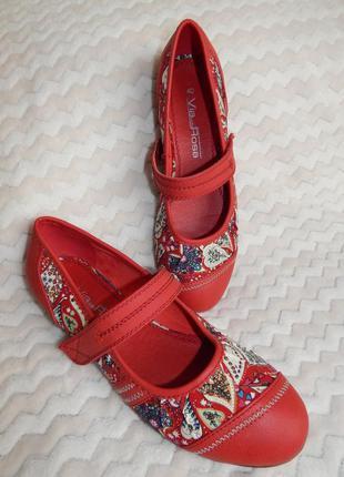 Туфли туфлі балетки via della rosa