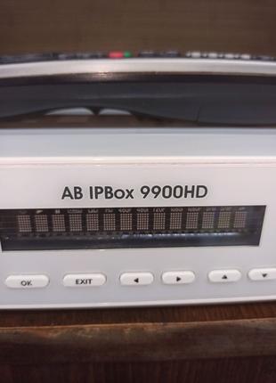 Спутниковый тюнер ресивер AB IPbox 9900HD