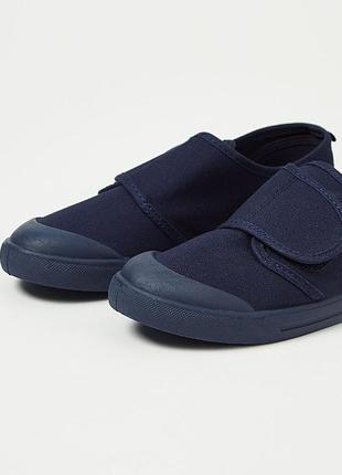 Кеды мокасины сменная обувь для школы george