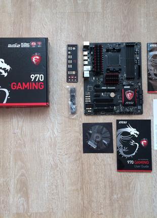 Материнская плата для AM3+ MSI 970 Gaming (AMD FX Phenom) сборка