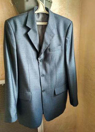 Класический костюм пиджак брюки школьная форма рубашка