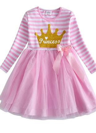 Милое нарядное детское платье Принцесса, на 2-5 лет, новое