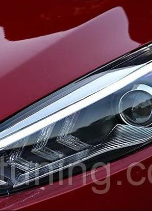 Фары Ford Focus 3 (11-18) форд фокус Led фара фари тюнинг оптика