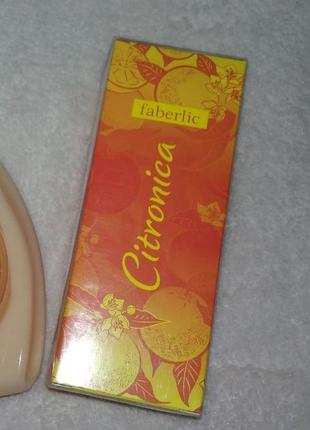 Парфюмерная вода для женщин citronica ,25мл