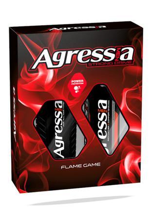 Набор Agressia Normal шампунь + крем для бритья