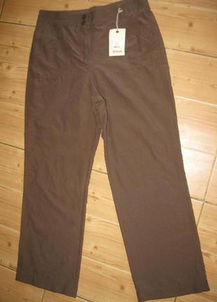 """Новые коричневые брюки """"authentic bhs"""" р. 48 пояс - резинка"""