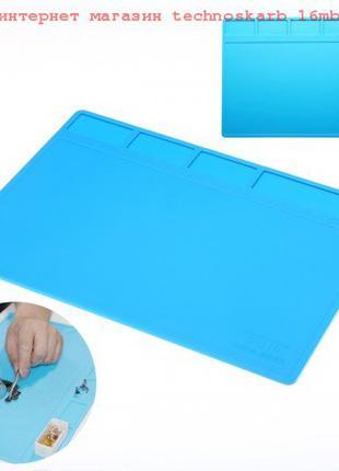 Защитный коврик термостойкий 28 х 20 см, силиконовый для пайки