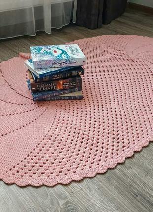 Розовая дорожка в комнату/ рожевий коврик в кімнату