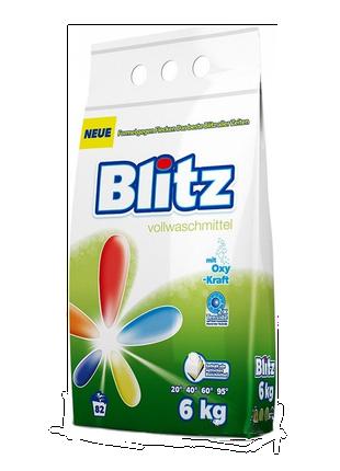 Універсальний пральний порошок Blitz Vollwaschmittel 6 кг.