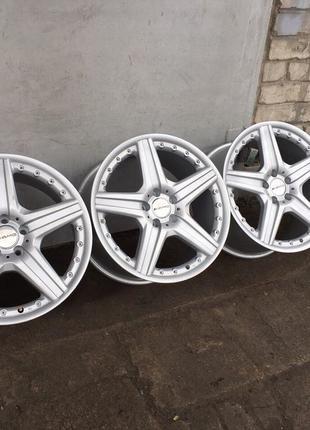 777 Разноширокие диски R19 5/112 Mercedes W220 221 140 ML GL