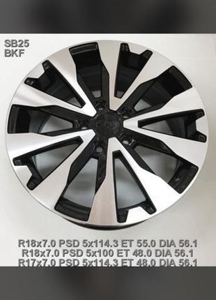 777 Новые диски Subaru R17 5/100 Forester, Outback, Legasu