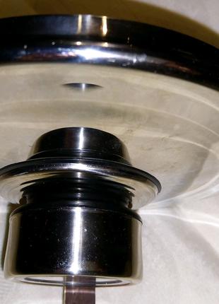 Крышка металлическая 16 см с термометром Mayerhouse