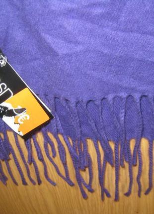 """Новый фиолетовый шарф """"esmara"""" 28 х 162 см"""