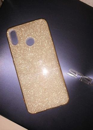 Чехлы бампер-GOLD и PINK, cиликоновые, для Huawei Honor X8. Новые