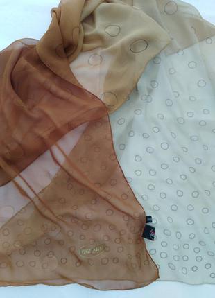 Шелковый шарф  diane von furstenberg milano.