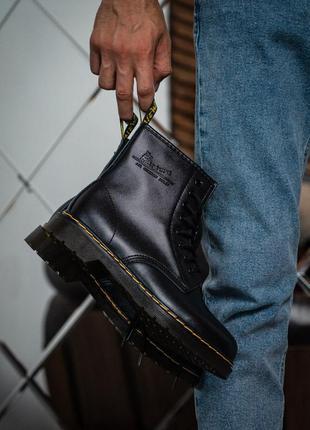 Черевики dr. martens 1460 black ботинки